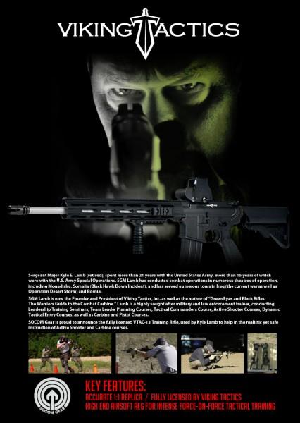 SOCOM Gear Kyle Lamb VTAC-13 M4 AEG noveske viking tactics