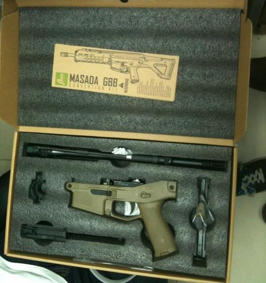 Beta Project Magpul Masada GBB Conversion Kit