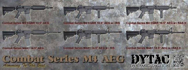 DYTAC Combat Series Index AEG