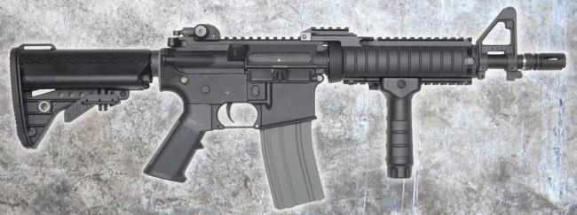 DYTAC Combat Series M4 CQBR 10.5 AEG RAS II