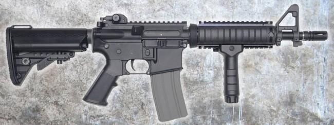 DYTAC Combat Series M4 CQBR 10.5 AEG RIS