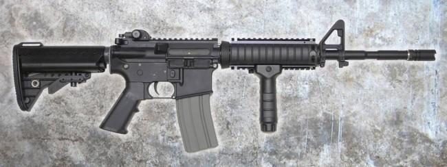 DYTAC Combat Series M4A1 14.5 AEG RIS
