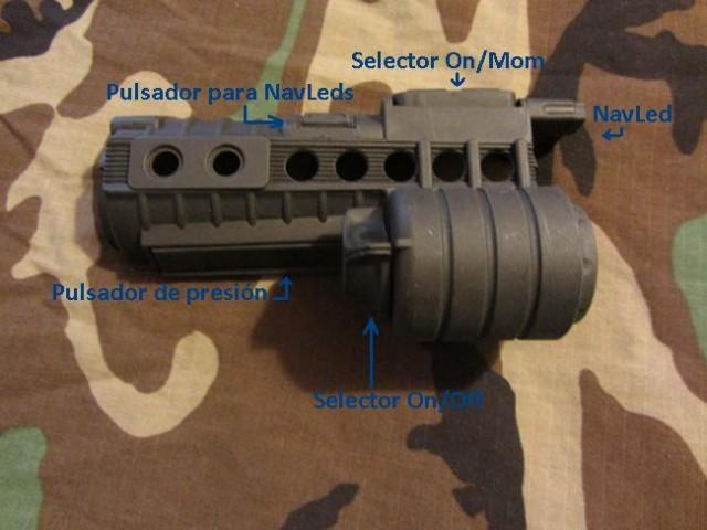 Review Element M500A Funciones Botones