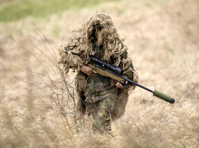 Sniper DPM Ghillie