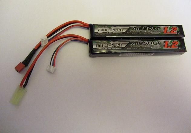 LiPo Turnigy conectores TDean Tamiya