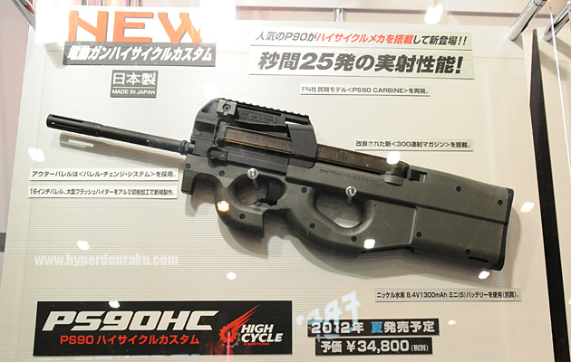 Tokyo Marui PS90 P90 High Cycle
