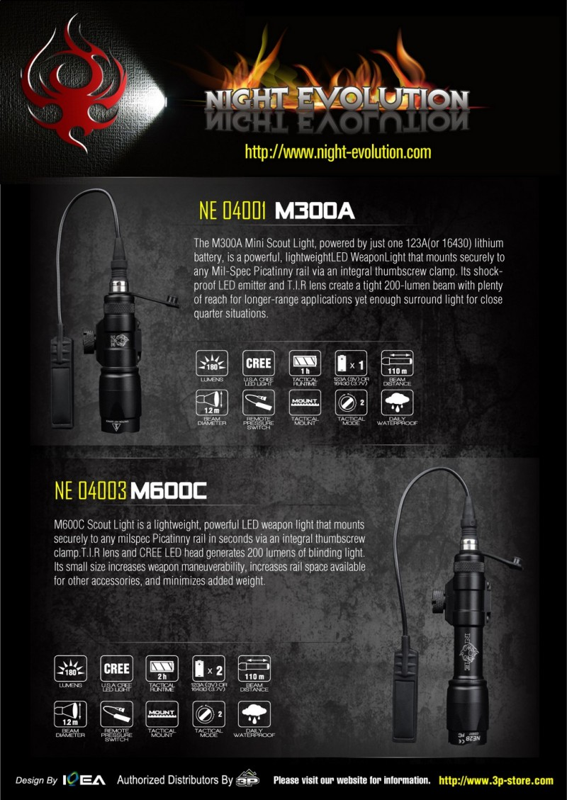 Element Night Evolution M300A m600C