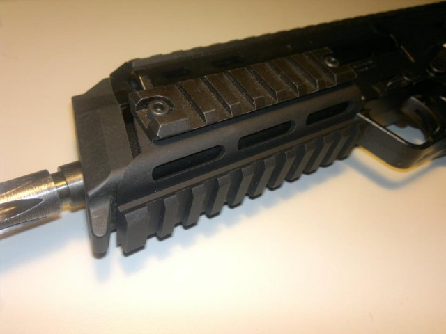 Hamerson Combat MP7 rail RIS