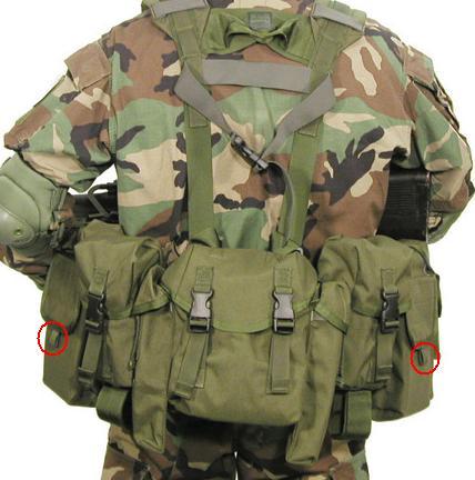 Blackhawk LRAK gunner vest mod