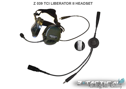 Z Tactical TCI Liberator Headset