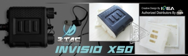 Z Tactical ptt invisio x50