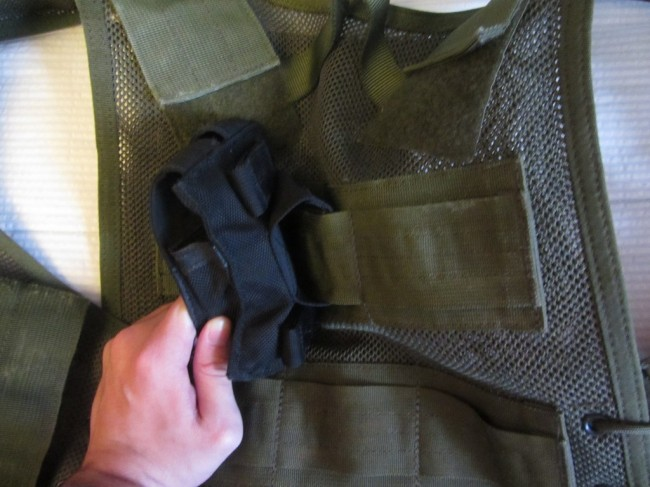 Blackhawk Omega BTS Pouch attached