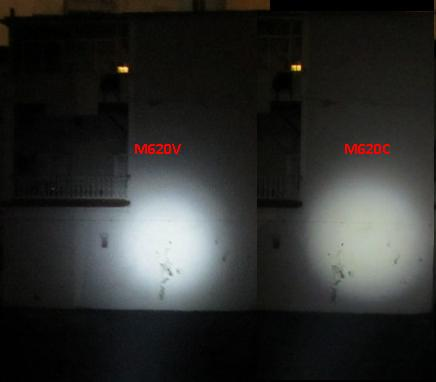 Night Evolution M620C M620V Light Beam
