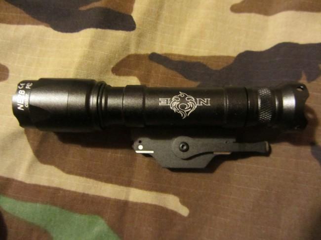 Night Evolution M620C tail cap