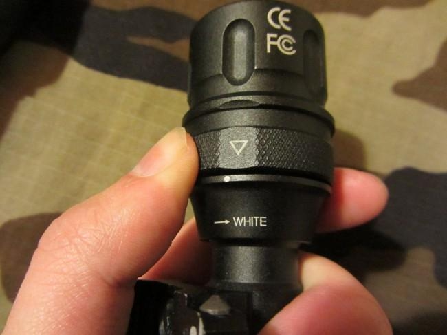 Night Evolution m620V LED mode