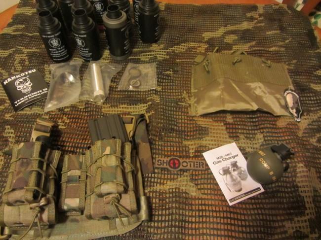 ShooterCBGear Pedido marzo vista general