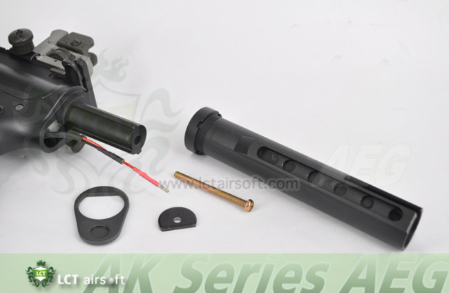 LCT Airsoft M4 stock tube