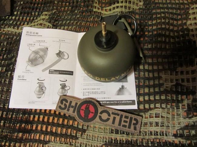 ShooterCBGear M67 Grenade Gas charger