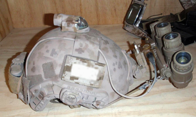 DevGru AOR1 Ops Core FAST Helmet with GPNVG18