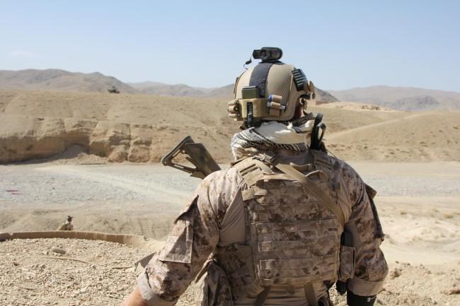 Navy Seal Mich helmet aor1