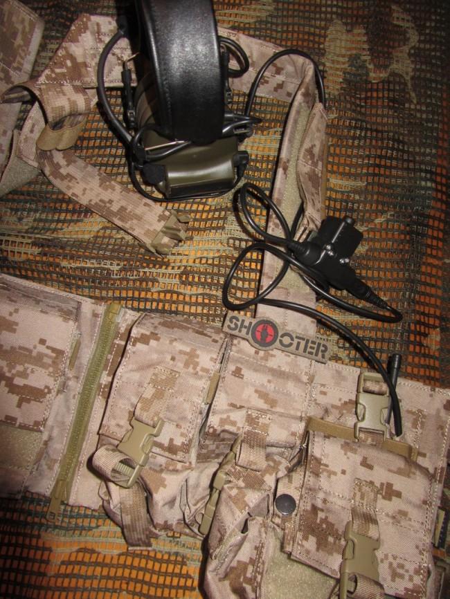 ShooterCBGear Z-TActical U94 PTT