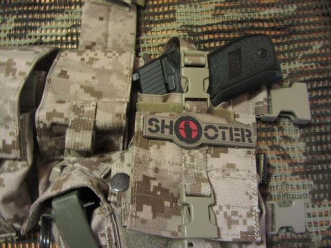 review Flyye LBT1961G AOR1 Pistol pouch