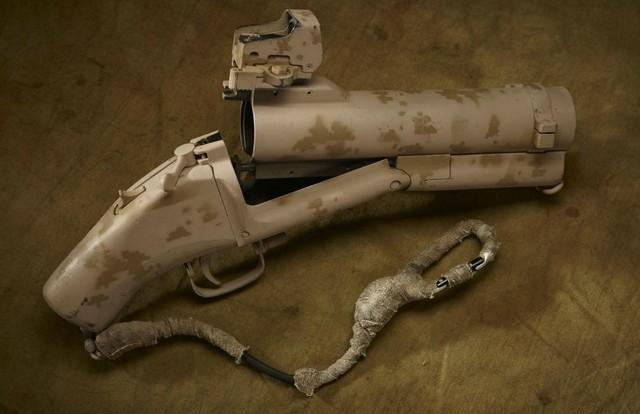 DevGru Cropped M79 grenade launcher