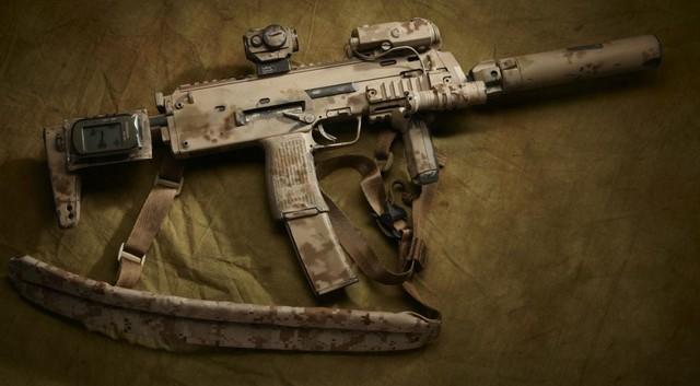 DevGru MP7 AOR1