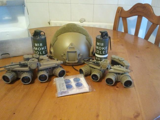 ShooterCBGear PVG-18 GPNVG18 Sparatn FMA