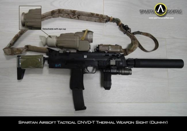 Spartan Airsoft CNVD-T