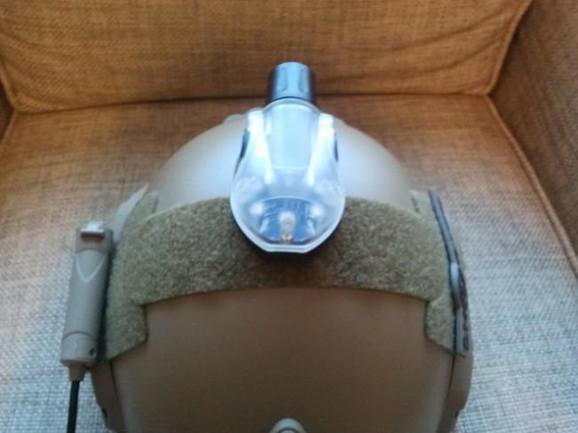 FAST Helmet Manta Strobe