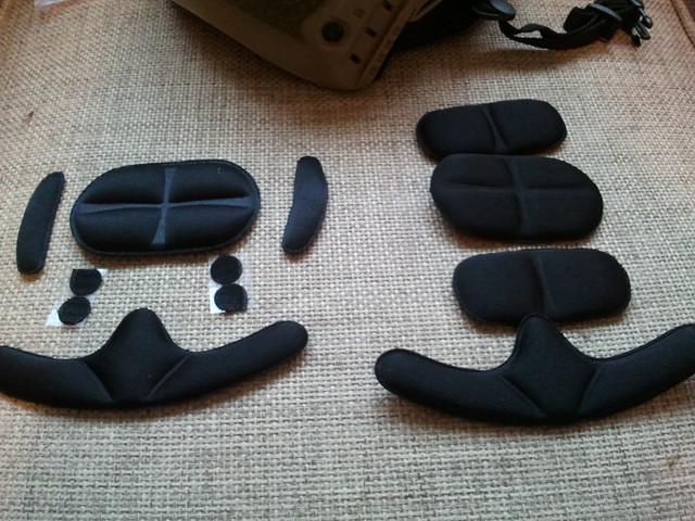 fast helmet almohadillas