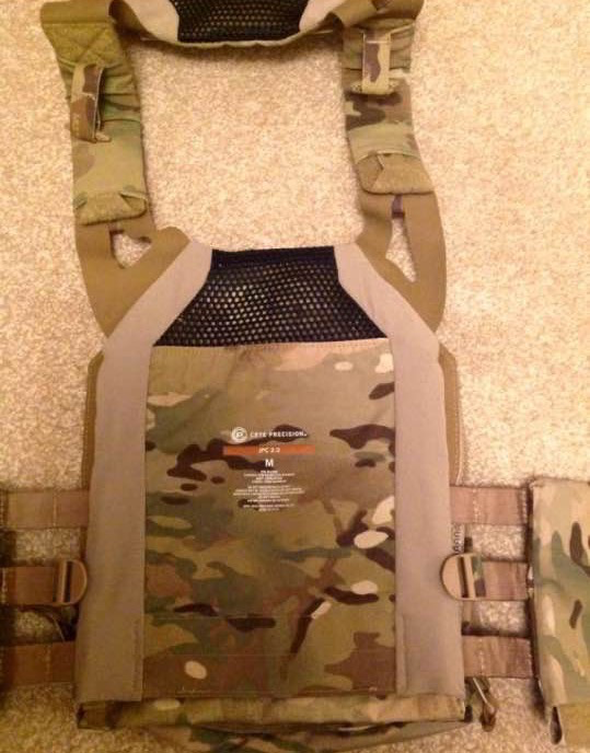 Crye JPC 2.0 spandex plate