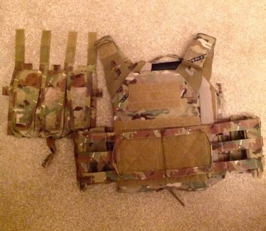 Crye JPC 2.0 front flap