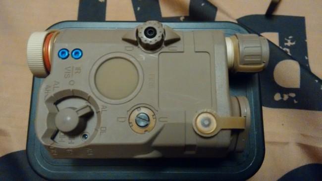 FMA Peq LA-5 FMA red laser