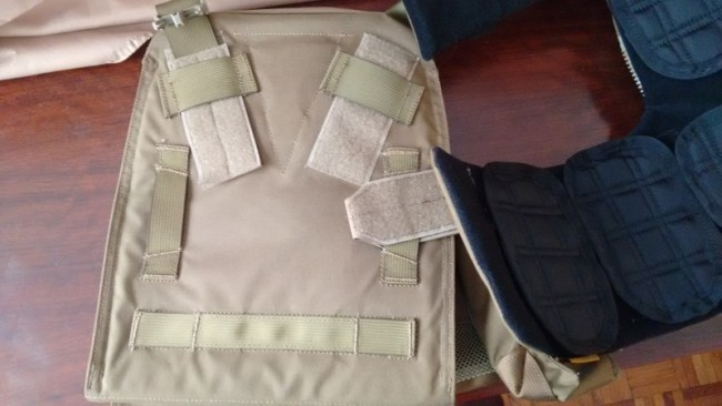 MODI CPC Platebag inside
