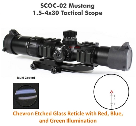 Vector Optics Mustang scope