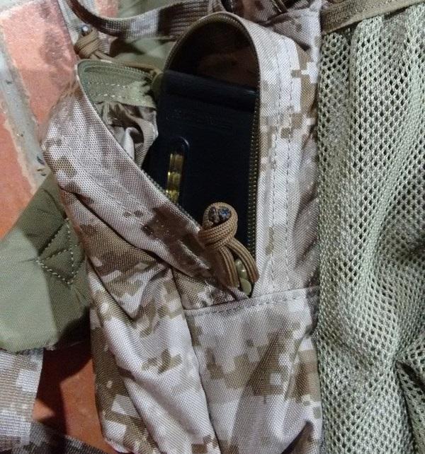 Side pockets Yote