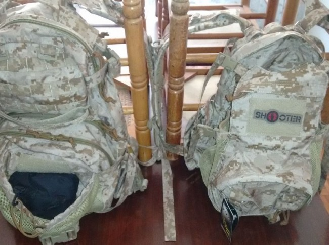 FLYYE AOR1 backpacks Jumpable DMAP