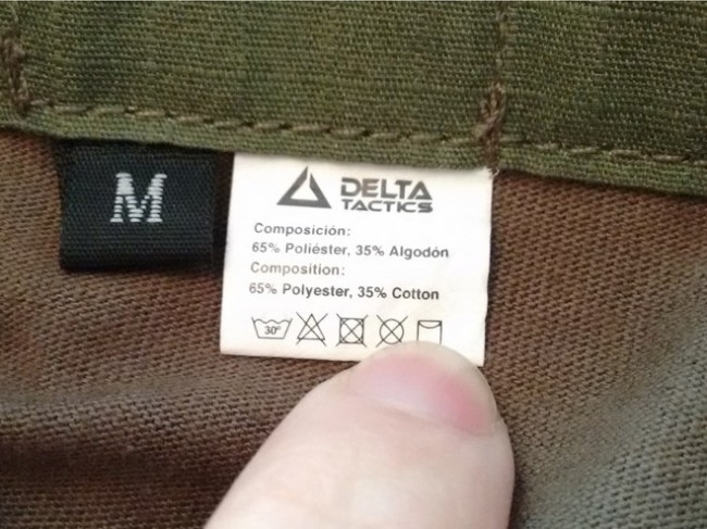 Delta Tactics Algodon poliester