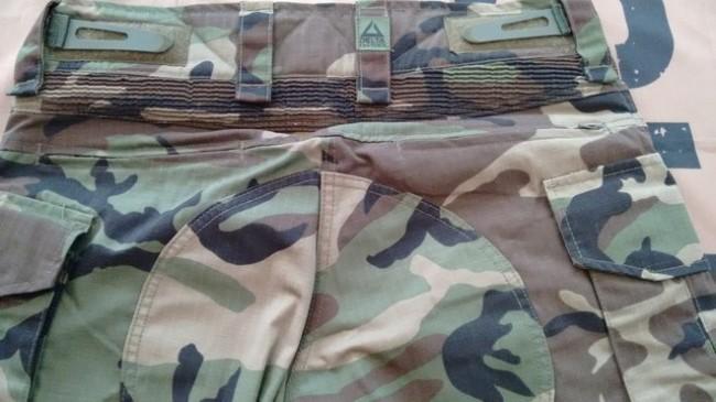 Combat GEN3 woodland pant rear