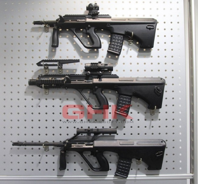 GHK AUG GBB versions