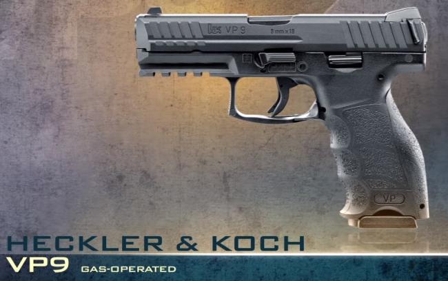 Umarex VP9 GBB pistol
