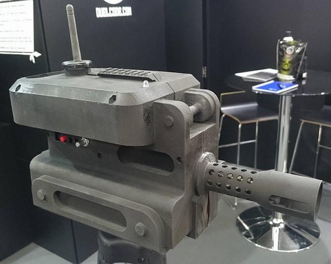 Zoxna Sentry Gun IWA 2016