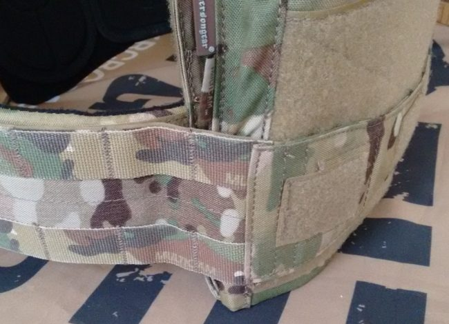 Adaptive Vest System mounting