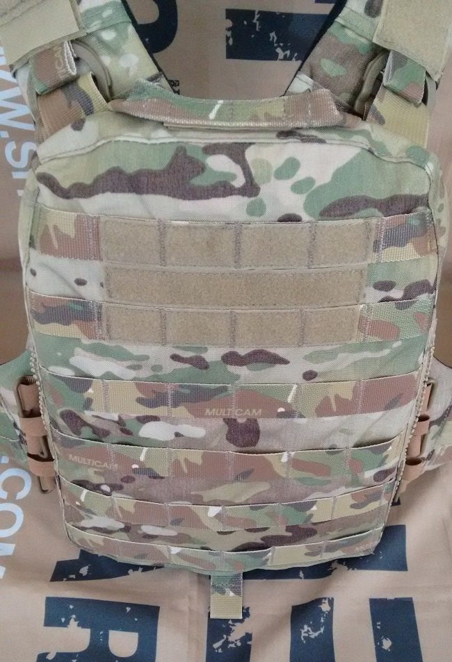 Emerson Adaptive Vest rear platebag