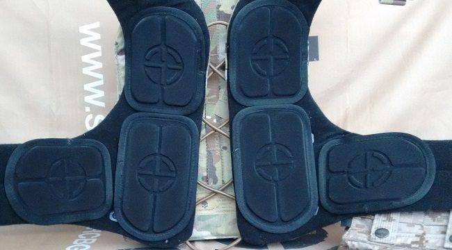 Emerson Adaptive Vest pads