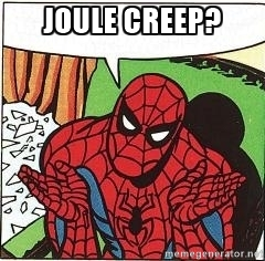 Joule Creep Spiderman