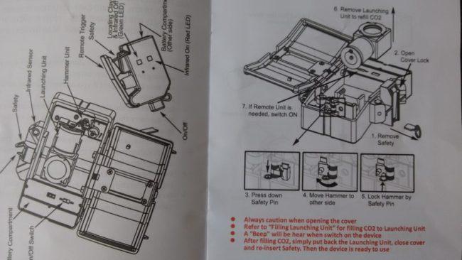 Instrucciones SDU Claymore