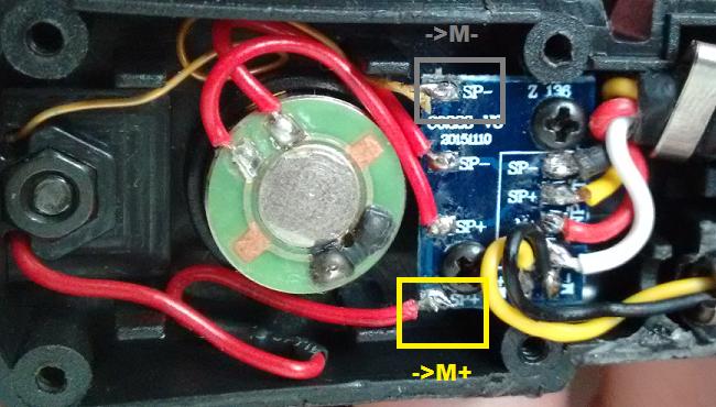MH180V wiring ZTAC
